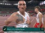 Lech Poznań na Igrzyskach Olimpijskich w Tokio. Jakub Krzewina z polskiej sztafety pokazał tatuaż