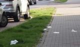 Zużyte maseczki i rękawiczki zaśmiecają trawniki i ulice Warszawy. Wkrótce będzie ich jeszcze więcej?