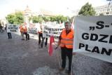 Protest przeciw S1 w Miedźnej: Nie dla wariantu A