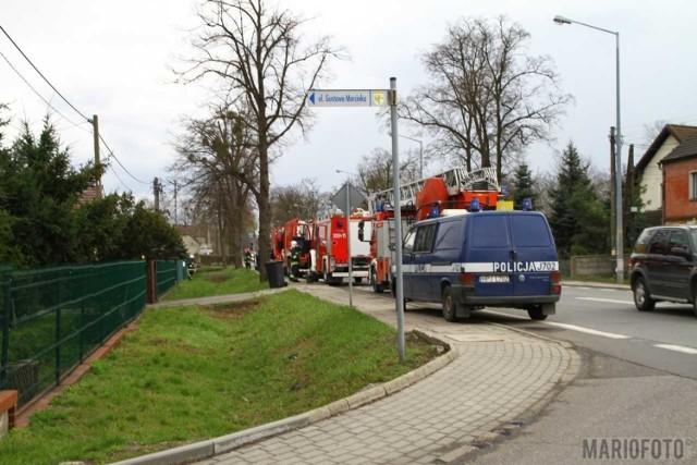 Pożar w Opolu.