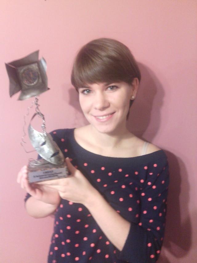 -Ta nagroda znaczy dla mnie bardzo wiele - mówi Ewa Cieślak, która zajęła drugie miejsce w festiwalu