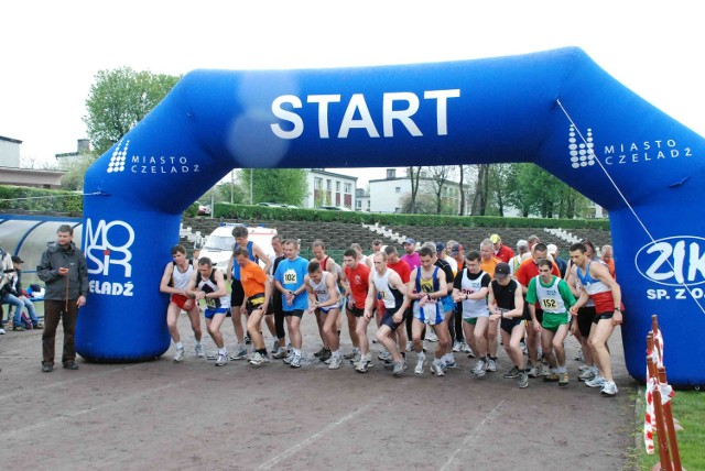 Na starcie stanęło blisko 200 biegaczy