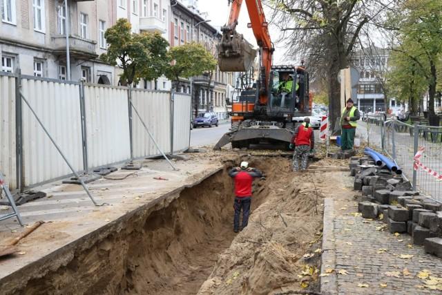 Budowa śmietników podziemnych ma potrwać około dwa miesiące.