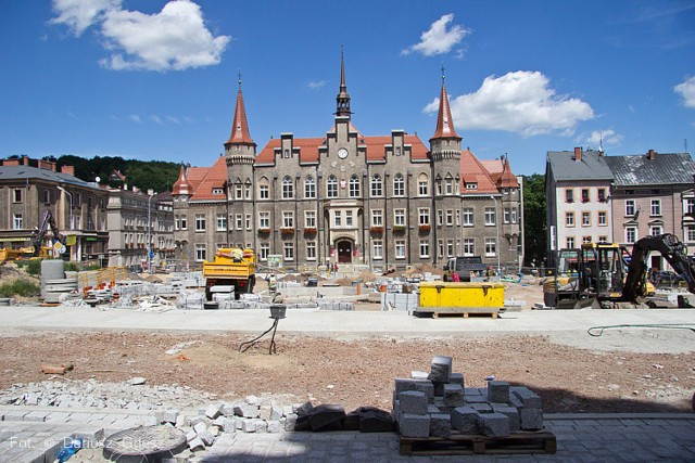 Przebudowa placu Magistrackiego w Wałbrzychu