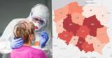 COVID-19. Woj. śląskie już nie na czele. Dziś 508 nowych zakażeń koronawirusem w regionie. Gdzie najwięcej? W Sosnowcu, Katowicach...