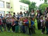 Rodzinny Rajd Rowerowy w Przedszkolu nr 4 w Skierniewicach