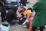 Bydgoszcz. Policja użyła siły wobec protestujących na ul. Jagiellońskiej. Aktywistka z Extinction Rebellion ma złamane żebro
