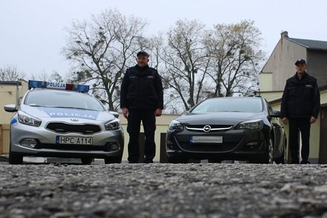 Nowe pojazdy dla mogileńskiej policji [ZDJĘCIA]