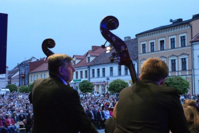 Koncert na Rynku w Koninie