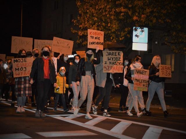 26 października w Goleniowie odbyła się kolejna demonstracja przeciwko planom zaostrzenia przepisów o aborcji