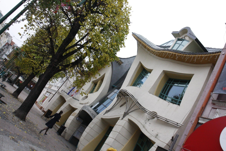 Krzywy Domek Dwor Oliwski Bar Turystyczny Trojmiejskie Obiekty
