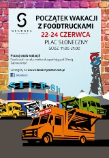 W weekend zlot foodtrucków przed Silesia City Center