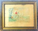 Chojniczanka znalazła na aukcji internetowej swój skradziony obraz Kossaka