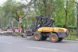 W Milowicach w Sosnowcu powstaje sygnalizacja świetlna. Często dochodziło tu do wypadków. Teraz będzie bezpieczniej. Mieszkańcy czekali lata
