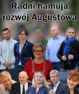 Radni z Augustowa pozywają lokalny tygodnik do sądu. Za to, że hamują rozwój miasta i noszą ciuchy