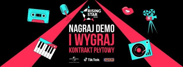 """TikTok i Universal Music Polska zapraszają na wielki konkurs """"Rising Star"""". Nagraj demo i umieść na swoim TikToku [#risingstarpolska]"""