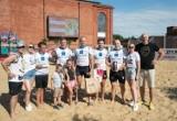 Bierhalle Manufaktura Beach Rugby 2021. Belg pomógł im wygrać [ZDJĘCIA]