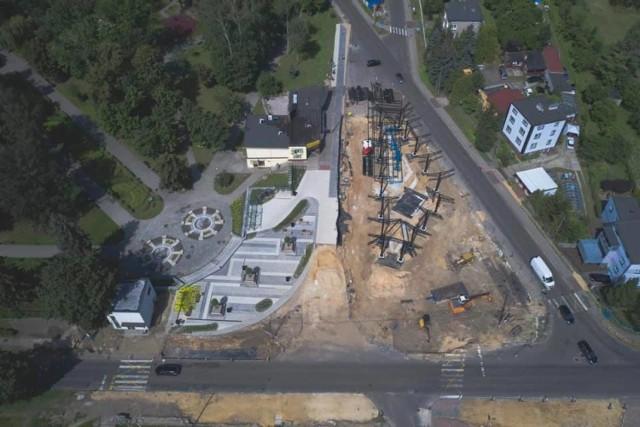 W Wojkowicach powstaje centrum przesiadkowe. Remontowana jest także ulica Brzeziny Zobacz kolejne zdjęcia/plansze. Przesuwaj zdjęcia w prawo - naciśnij strzałkę lub przycisk NASTĘPNE