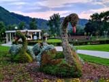 Figury kwiatowe z Muszyny kuszą. To ostatnia szansa w tym roku, żeby je zobaczyć!