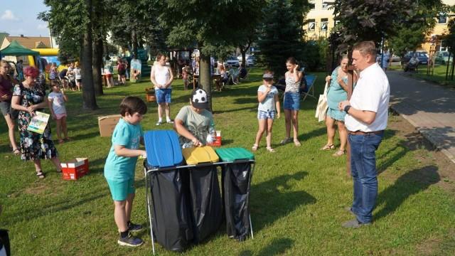 """Na pikniku """"Eko Anka"""" w Golubiu-Dobrzyniu czekało sporo atrakcji dla dzieci"""