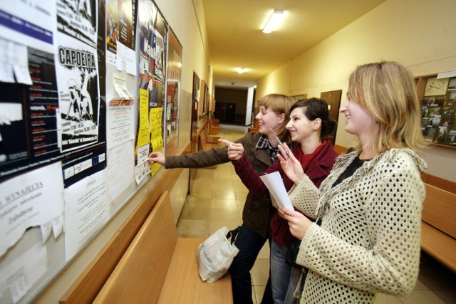 Studentów szukających lokum jest wyraźnie mniej, głównie przez wprowadzenie zdalnego trybu nauczania.