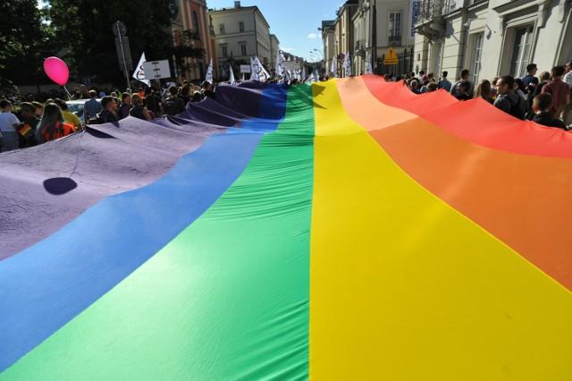 Zdjęcie z Parady Równości 11 czerwca 2016 w Warszawie