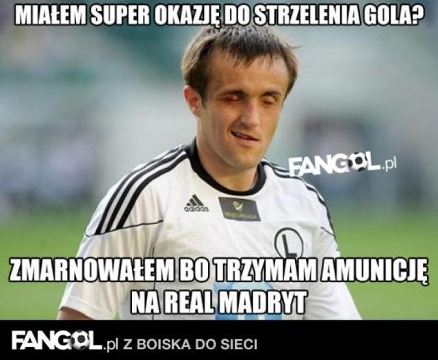 Najlepsze memy przed i po meczu Legia - Sporting. Internauci nie oszczędzają piłkarzy [MEMY]