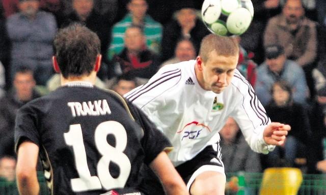 Janusz Gol we Wrocławiu miał okazje strzelenia gola, ale był nieskuteczny. Oby dziś było inaczej