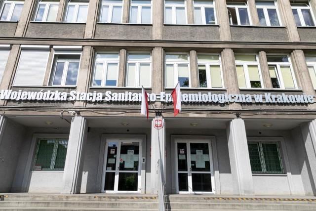 Siedziba Wojewódzkiej Stacji Sanitarno-Epidemiologicznej w Krakowie
