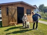 Piknik w ogrodzie na pożegnanie lata w Środowiskowym Domu Samopomocy w Sypniewie