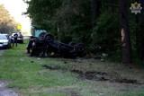 KPP Chojnice:  Wypadek na krajowej 22
