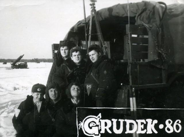 82 Gwardyjski Pułk Strzelców Zmotoryzowanych w Kłominie - Gródku