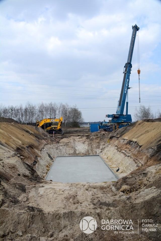 Tak wyglądają prace przy budowie tunelu