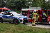 Tragiczny wypadek w Wysokiej pod Gorzowem. Zginęła młoda kobieta. Z jej samochodu niewiele zostało...