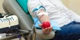 Zbiórka krwi na rynku w Głogowie. Zbierają dla Filipa Domagały