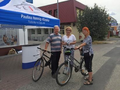 Posłanka Paulina Hennig-Kloska ruszyła w trasę po okręgu.