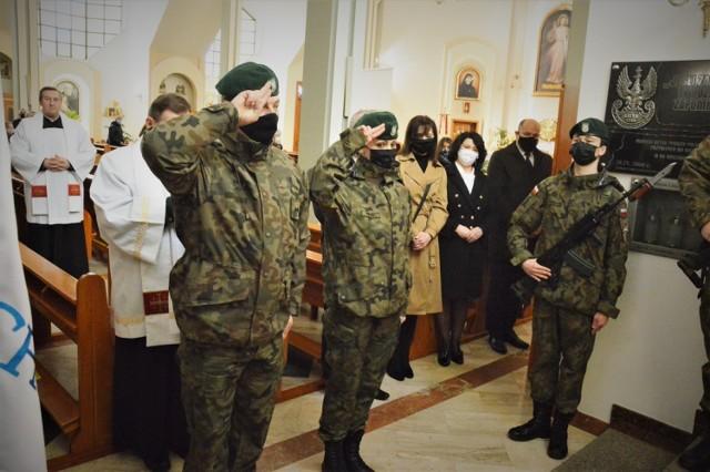 Obchody 81. rocznicy Zbrodni Katyńskiej w Bełchatowie.