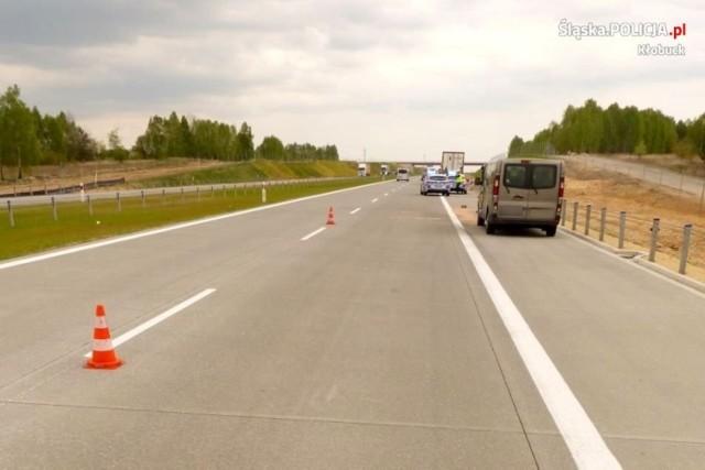 Do wypadku na autostradzie A1 doszło 29 kwietnia w okolicach miejscowości Biała