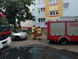Strażacy zostali wezwani do otwarcia mieszkanie. W lokalu była starsza kobieta [ZDJĘCIA]