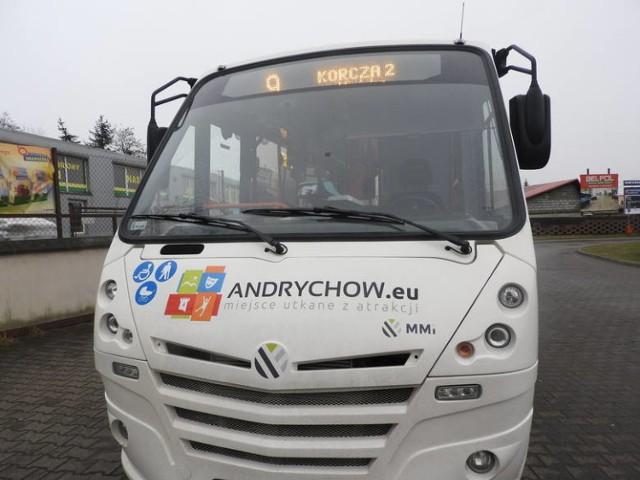 Autobusy kupione przez gminę Andrychów