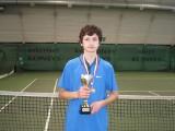 Przemysław Michocki w finale Tennis Europe w Czeskich Milovicach