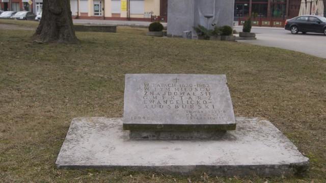 W 1994 roku Towarzystwo Przyjaciół Skierniewic w miejscu dawnego cmentarza postawiło pamiątkową tablicę