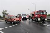 Na obowodnicy w Sławnie doszło do zderzenia 2 aut - 05.06.2020 r. NOWE ZDJĘCIA - aktualizacja