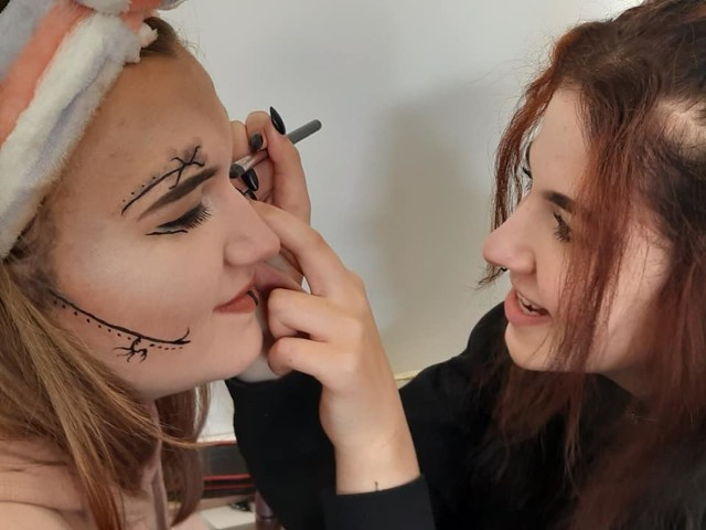 Eliminacje do konkursu dla stylistów Kreator w szkole w Andrychowie