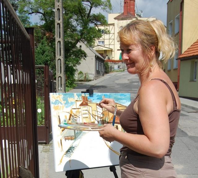 Na plener do Wierzchucinka wybiera się w piątek m.in. Hanna Zawadzka-Pleszyńska, szefowa szubińskiej grupy Plama's