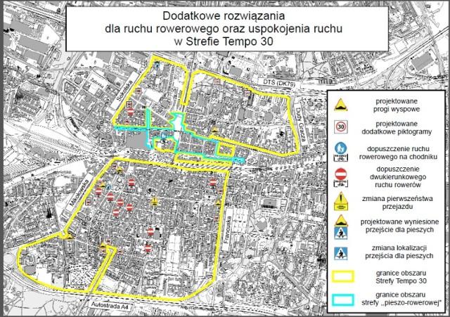 Strefa Tempo 30 w Katowicach