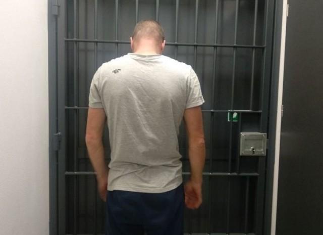 Jeden z zatrzymanych mężczyzn