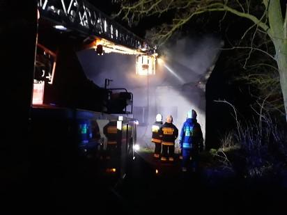 Seria pożarów w Golimowie. To były podpalenia. Prokuratura ustala czy mają wspólnego sprawcę