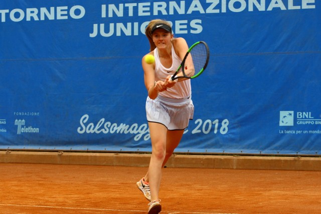 Zielonogórzanka Martyna Kubka zagrała w Australian Open.