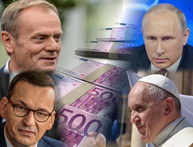 Sprawdź, jakie zarobki otrzymują polscy i zagraniczni politycy oraz VIPY. Kwoty (w zaokrągleniu i przeliczeniu na PLN) podajemy w podpisach pod zdjęciami.
